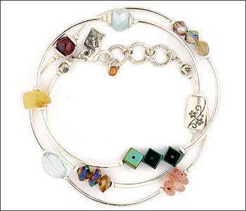Desert Heart Triple Wrap EB Bracelet Collection