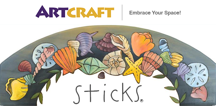 Art Craft Online - Sticks Summer Event