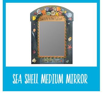 Shop Sea Shell Medium Mirror