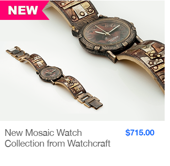 NEW Mosaic Watch Collection from Watchcraft