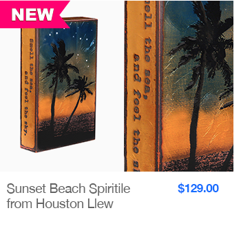 NEW Sunset Beach Spiritile from Houston Llew