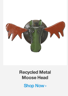 Shop Recycled Metal Moose Head