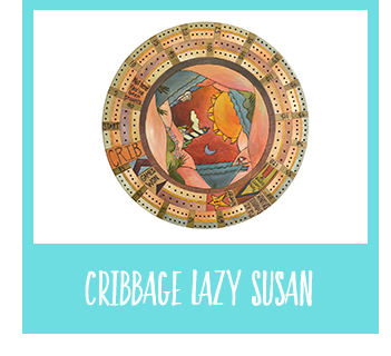 Shop Cribbage Lazy Susan