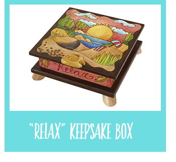 Shop Relax Keepsake Box