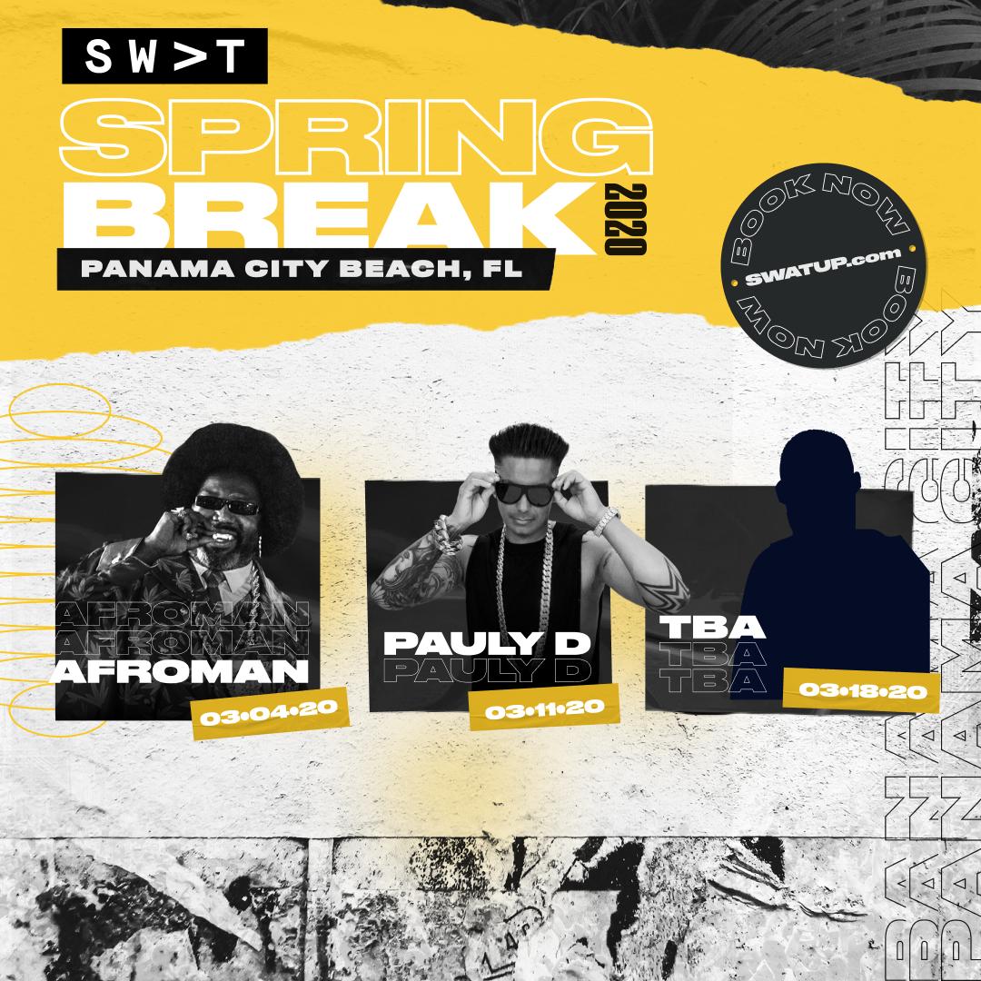 Spring Break 2020 Lineup