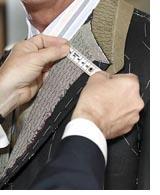 man having a bespoke suit made