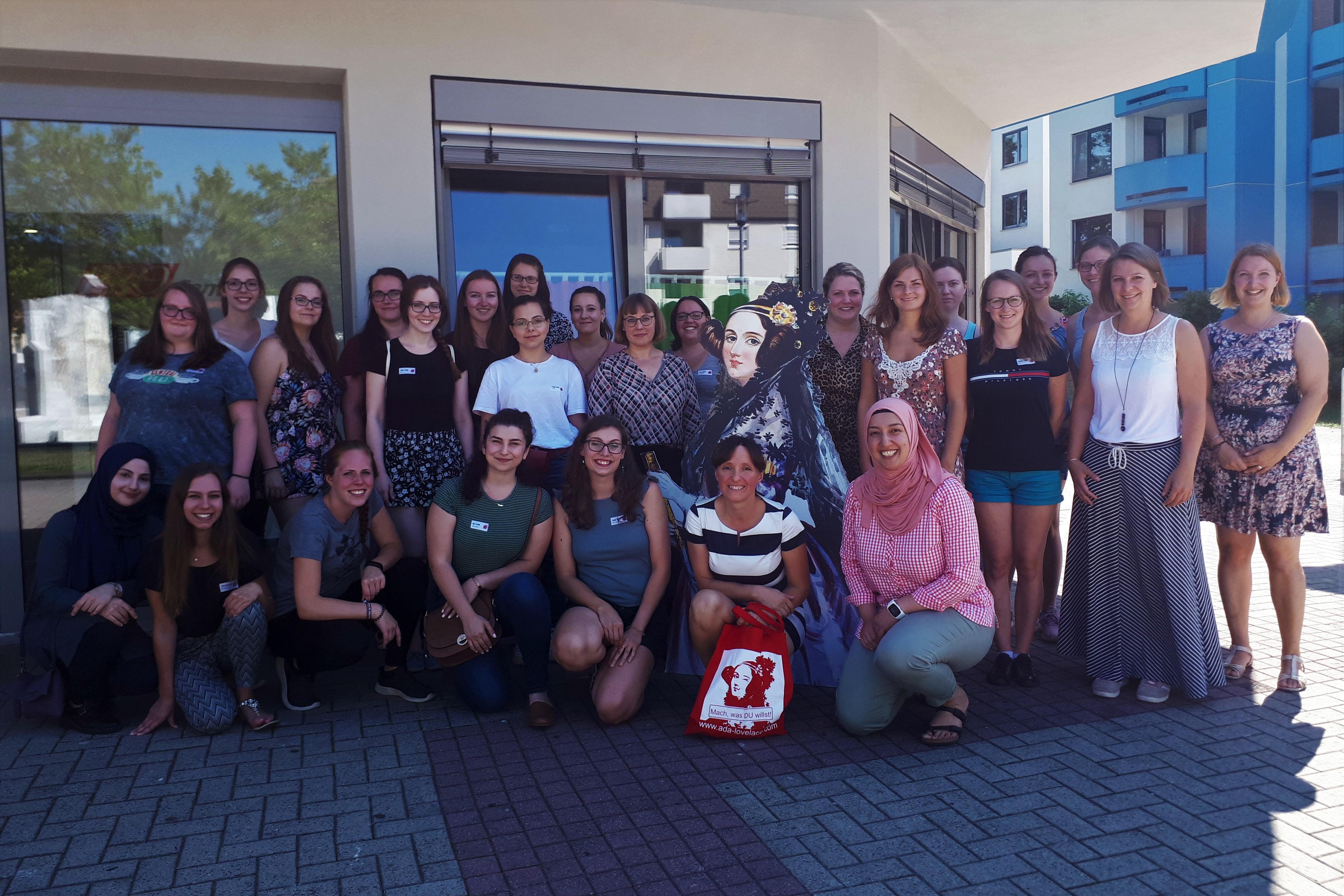 Teilnehmerinnen des diesjährigen Landesmentorinnentreffens in Kaiserslautern