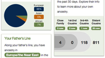 Ancestry Dashboard