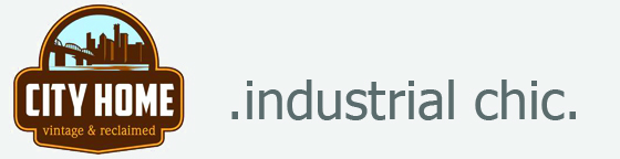 industrial chic newsletter with City Home logo