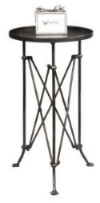 industrial chic style metal end table