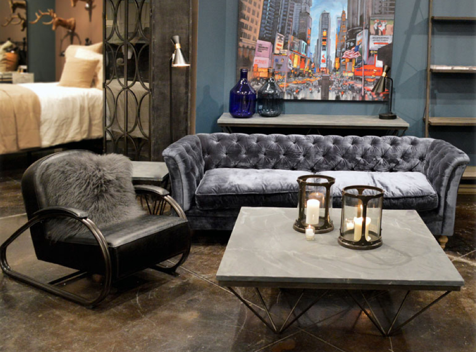 City Home industrial chic home furnishings