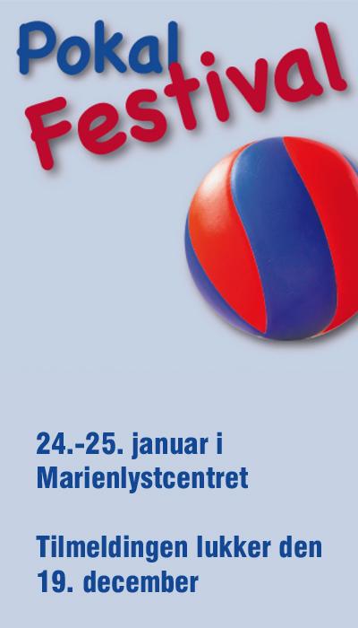 Pokalfestivalen den 24.-25. januar 2015 bliver udelukkende er et stævne for børn og unge, der mødes og spiller om mesterskabet i kids- og teenrækker. Tilmeldingen lukker den 19. december.
