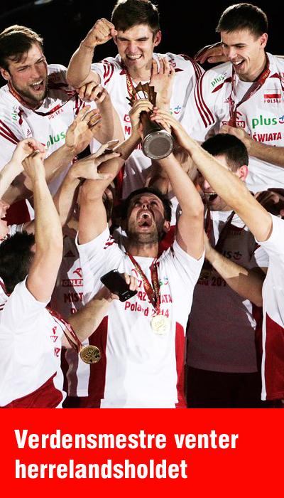 Ingen ringere end de polske verdensmestre er modstanderen i første kamp, når de danske volleyherrer spiller European League til sommer.