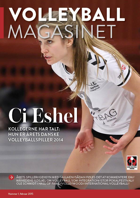Masser af lækkert læsestof i årets første Volleyball Magasin.