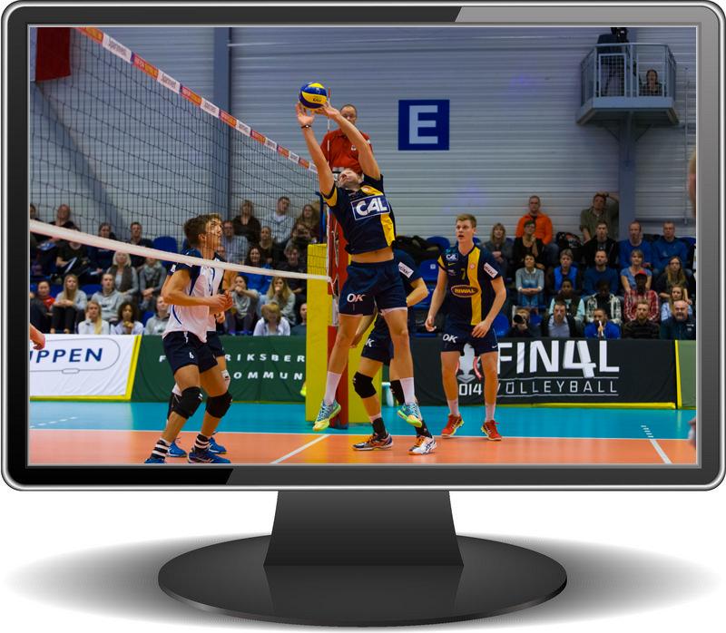 Marienlyst - Gentofte er første kamp på Volley TV