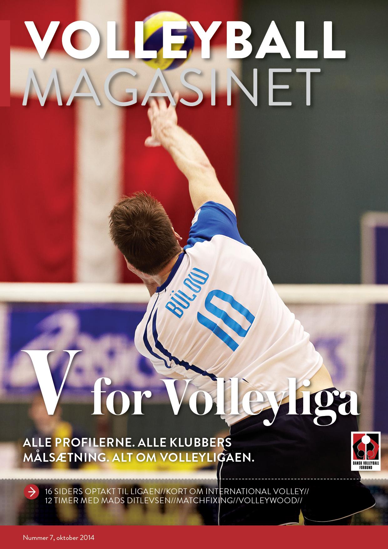 Nu er oktober-udgaven af Volleyball Magasinet på gaden.