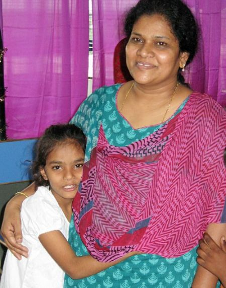 Shobha, administrator at Balavikasita Orphanage in India, takes care of her 89 children with the true love and devotion of a mother.