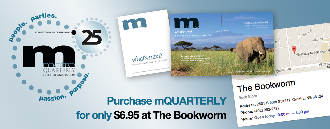 Purchase mQUARTERLY copies at The Bookworm!
