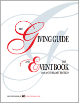 The Giving Guide & Event Book 2015!