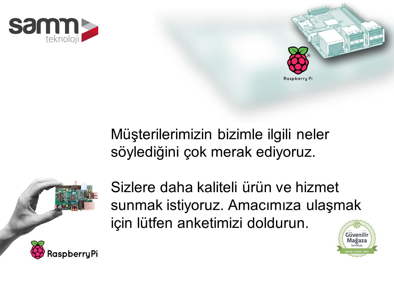 SAMM Teknoloji - Müşteri Memnuniyet Anketii
