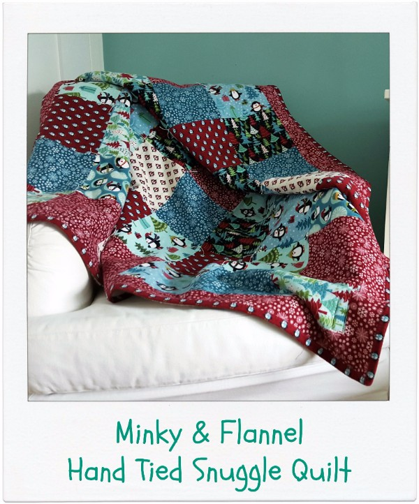 Hand Tied Snuggle Quilt Pattern [Tutorial]