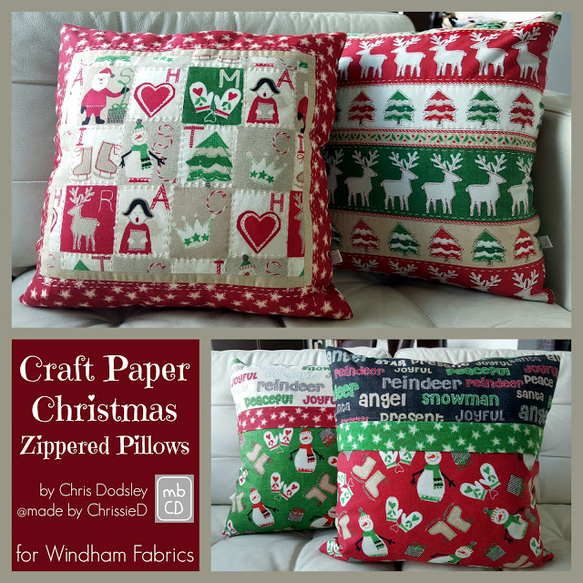 Windham Fabrics - Christmas in July 2016 & Giveaway