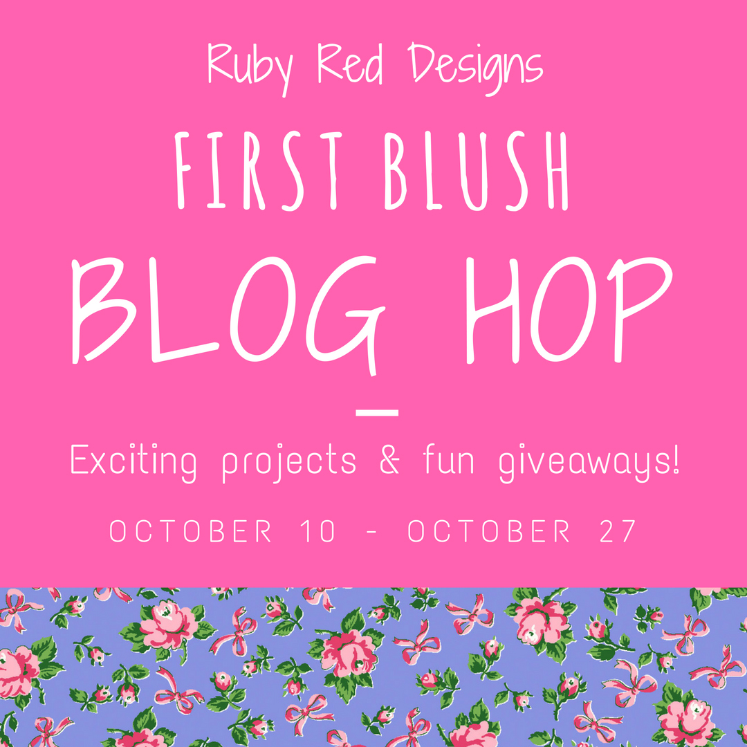 First Blush Blog Hop & Giveaway for Windham Fabrics