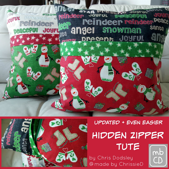Updated & Even Easier - Hidden Zipper Tute