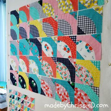 Bowties Quilt blocks by www.madebyChrissieD.com