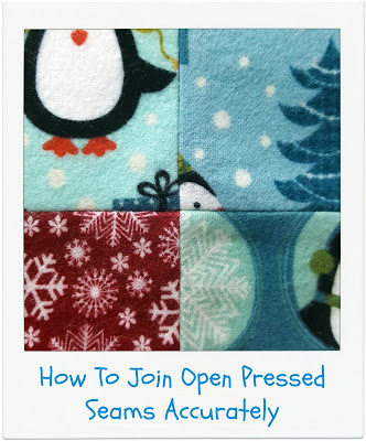 How To Join Open Pressed Seams Accurately