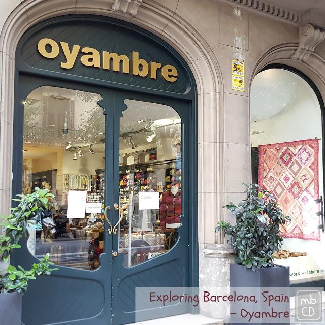 Oyambre Fabric Store, Barcelona by Chris Dodsley of madebyChrissieD.com