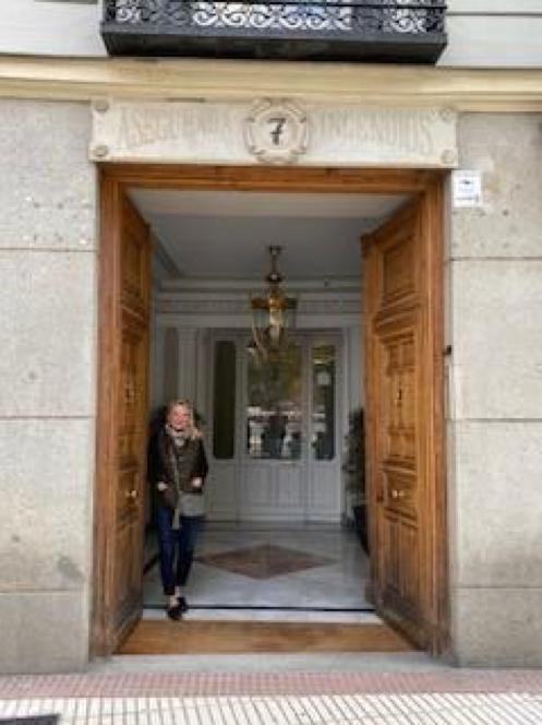 A Spanish doorway