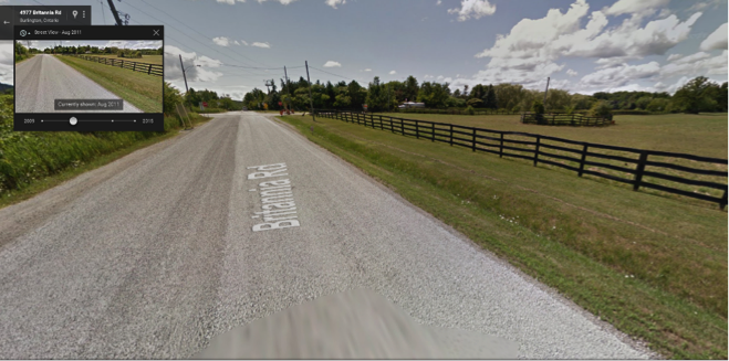 Google images photo from August 2011, near Milton, Ontario