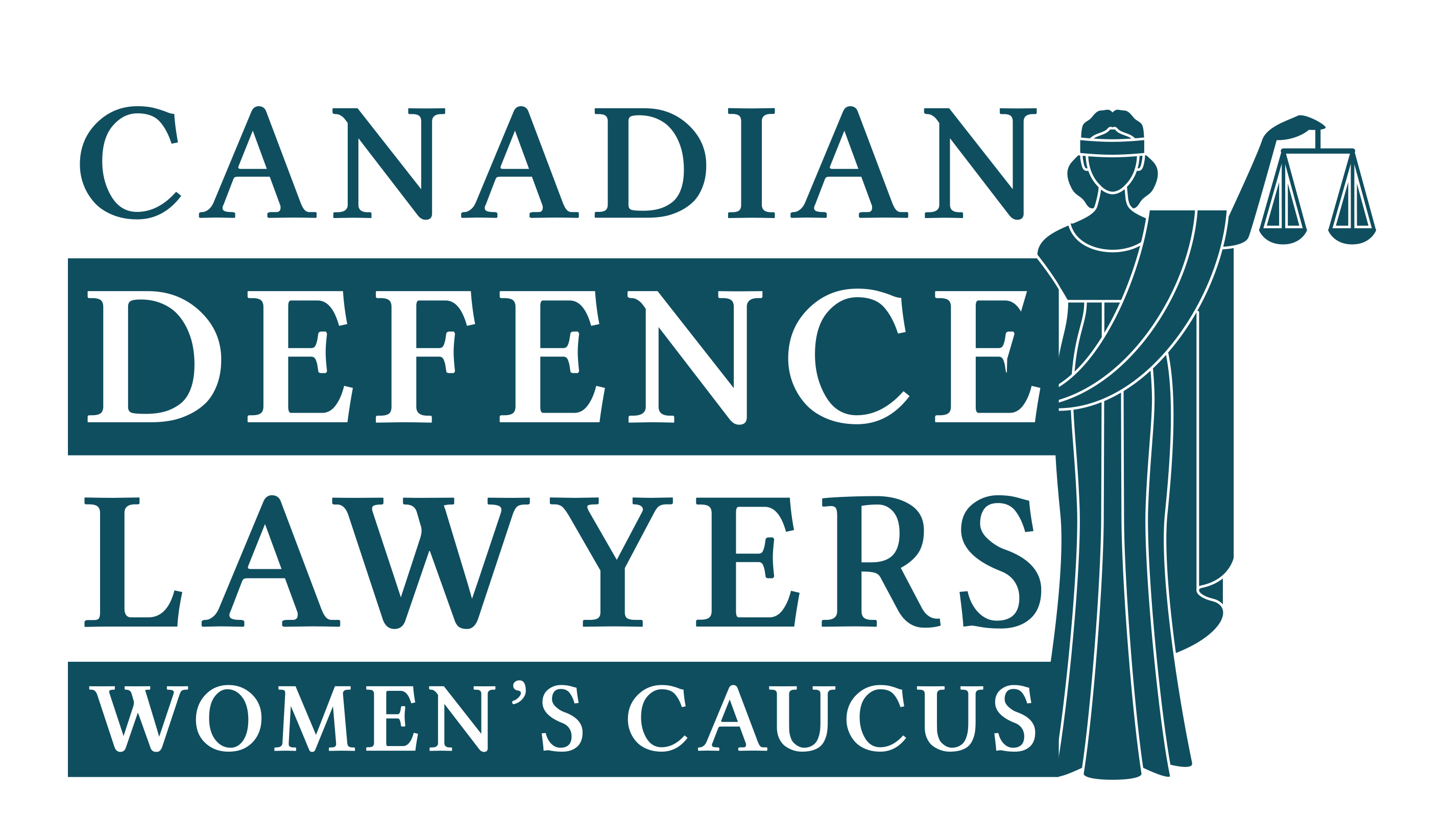 Canadian Defence Lawyers Women's Caucus logo
