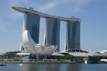 Marina Bay Sands in Singapore, May 2011