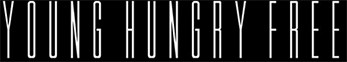 young hungry free logo