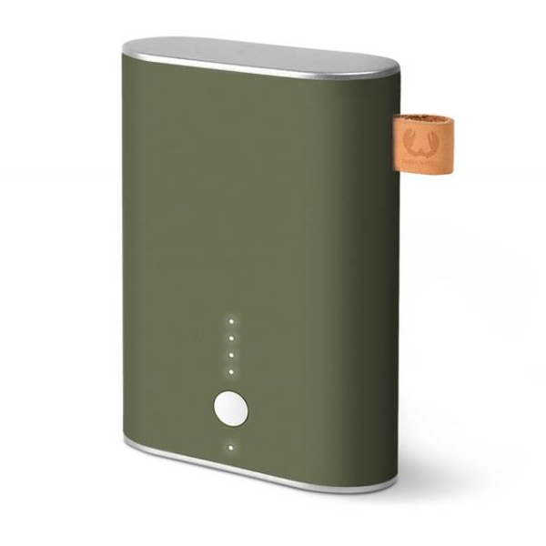 Външна батерия Fresh 'n Rebel Powerbank 9000mAh Army, Зелен