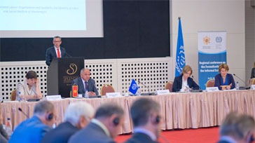 Fighting world of work insecurity: High-level conference discusses ways to formalize the informal economy