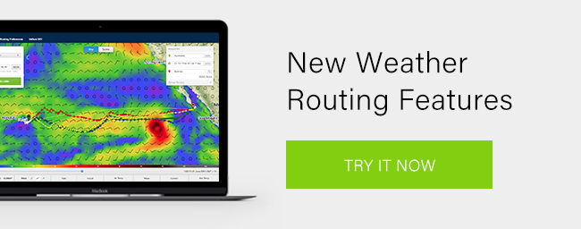 New Weather Routing Features