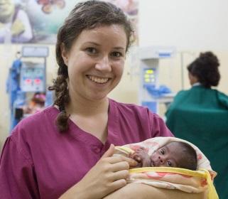 VSO volunteer Miriam Etter in Ethiopia