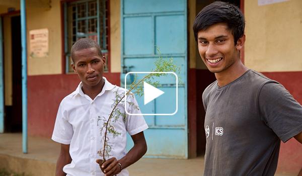 Meet ICS volunteer Naseem in a 360 video