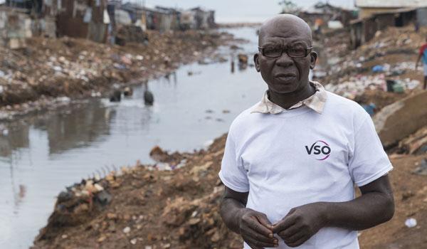 VSO volunteer Saidu Turay, Freetown, Sierra Leone.