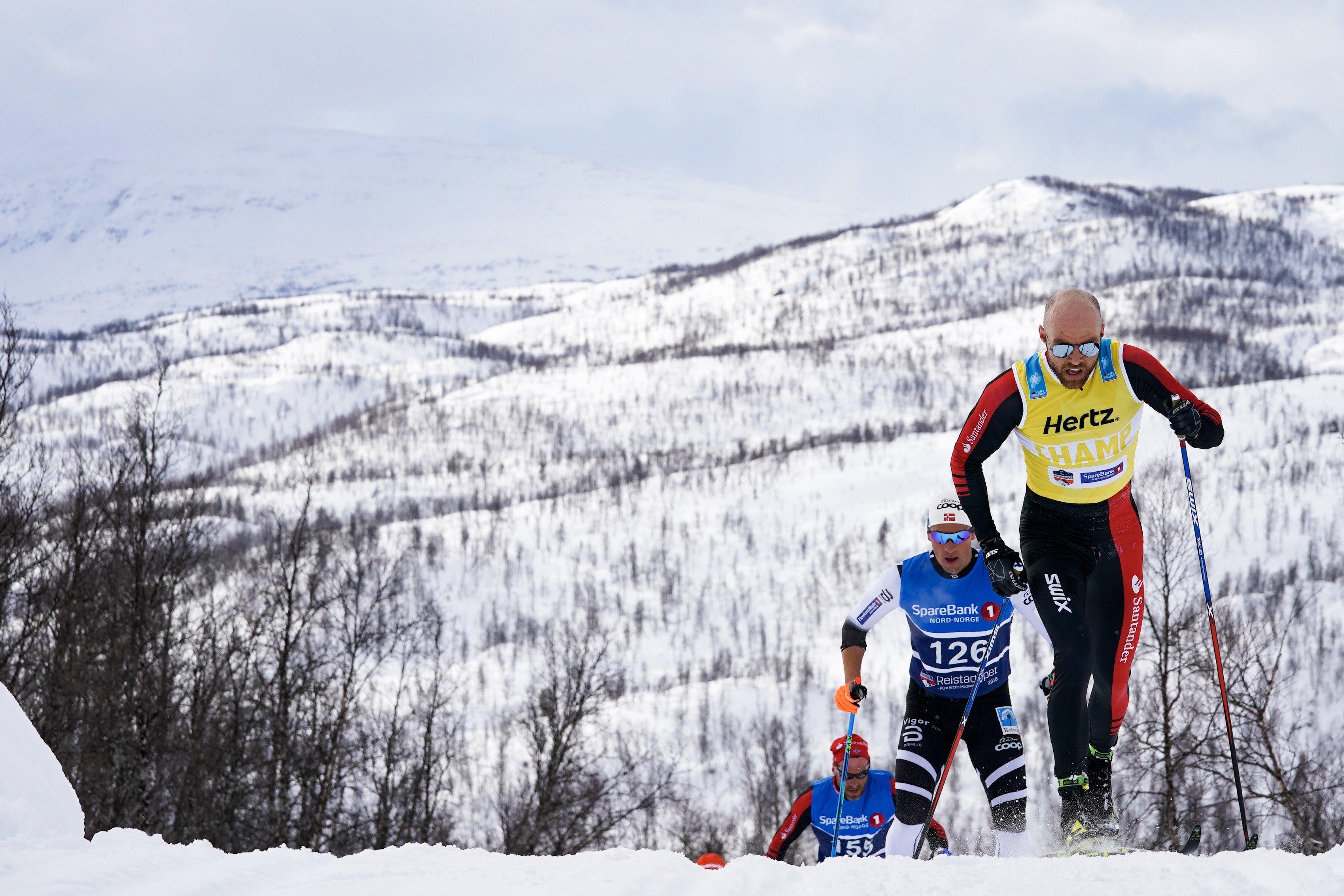 """За активные действия по ходу гонки Торд Асле Йердален получил награду """"Лыжник дня"""""""