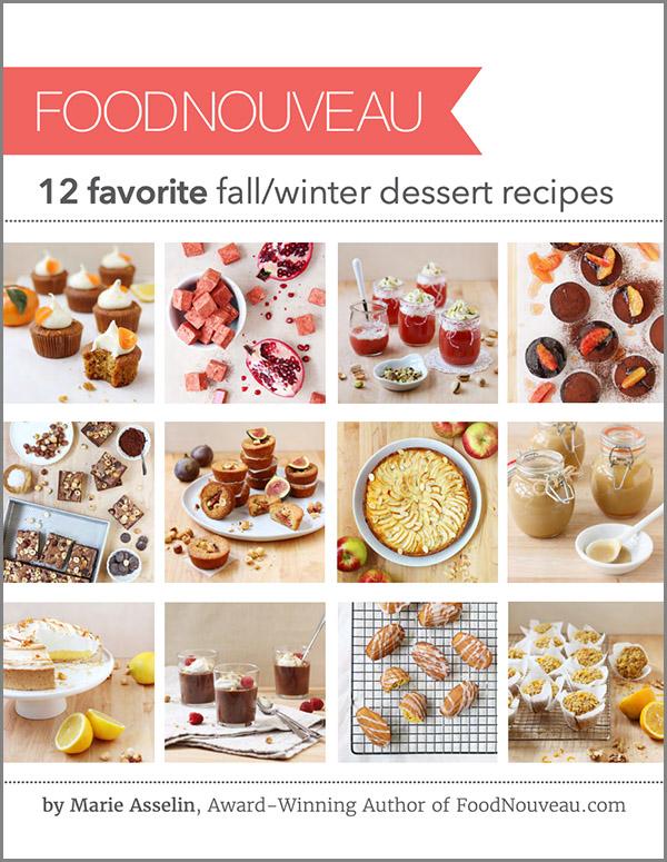 Food Nouveau: 12 Favorite Fall/Winter Dessert Recipes