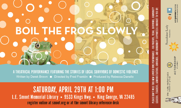 Boil the Frog Slowly poster