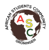 African Students Community SignUp