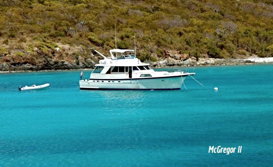 McGregor II Motor Yacht Vacation Charters