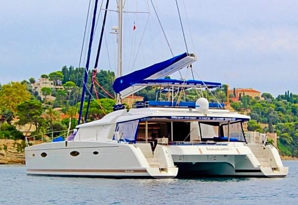 Catamaran Bamarandi
