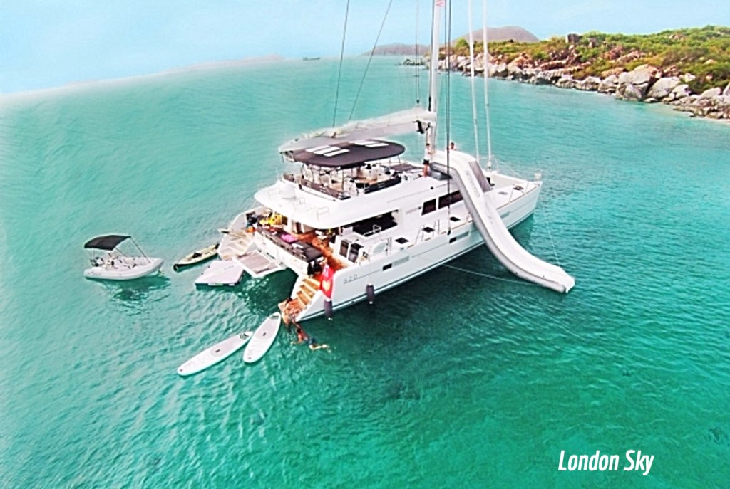 Catamaran London Sky Video