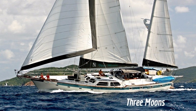 Sail Three Moons Yacht Charters